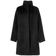 Buy Jaeger Swing Coat, Black Online at johnlewis.com