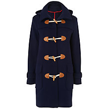 Buy Jaeger Duffle Coat, Navy Online at johnlewis.com
