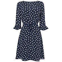 Buy Boutique by Jaeger Edie Butterfly Dress, Navy Online at johnlewis.com