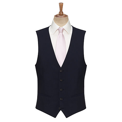 Buy John Lewis Tonic Tailored Waistcoat, Navy Online at johnlewis.com