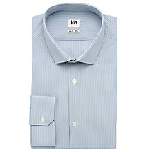 Buy Kin by John Lewis Eldon Fine Stripe Long Sleeve Shirt Online at johnlewis.com