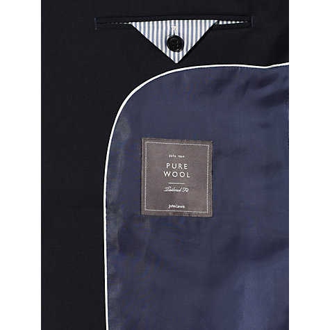 Buy John Lewis Tonic Tailored Suit Jacket, Navy Online at johnlewis.com