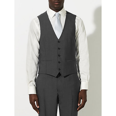 Buy John Lewis Tonic Tailored Waistcoat, Grey Online at johnlewis.com