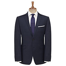 Buy John Lewis Windowpane Tailored Suit Jacket, Navy Online at johnlewis.com