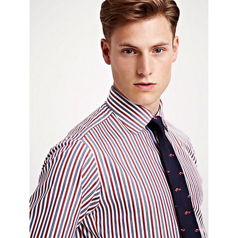 Buy Thomas Pink Reating Stripe Long Sleeve Shirt Online at johnlewis.com