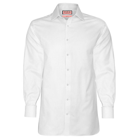 Buy Thomas Pink Jude Herringbone Long Sleeve Shirt Online at johnlewis.com