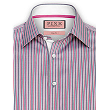 Buy Thomas Pink Menzies Stripe Long Sleeve Shirt Online at johnlewis.com