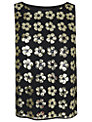 Boutique by Jaeger Sequin Flower Top, Black
