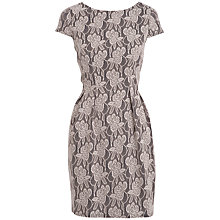 Buy Almari Lace Dress, Beige Online at johnlewis.com