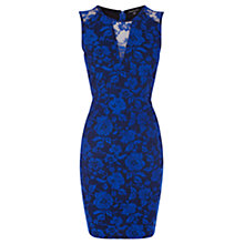 Buy Warehouse Bonded Lace Dress Online at johnlewis.com