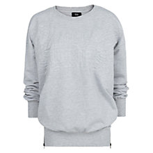 Buy Mango Zip Sweatshirt, Grey Online at johnlewis.com