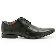 Buy Clarks Glint Street Derby Shoes, Black Online at johnlewis.com
