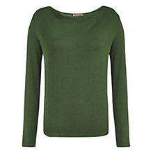 Buy Jigsaw Knit Stripe Cowl Top Online at johnlewis.com