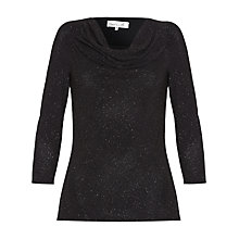Buy Damsel in a dress Amara Top, Black Online at johnlewis.com