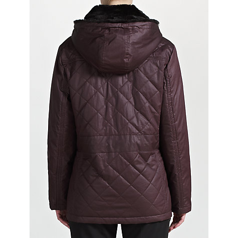 Buy Four Seasons Faux-Fur Collar Quilted Jacket Online at johnlewis.com