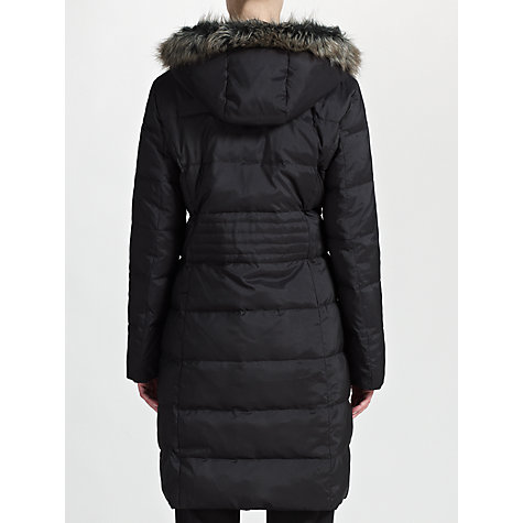 Buy Four Seasons Long Quilted Coat, Black Online at johnlewis.com