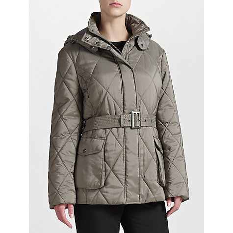 Buy Four Seasons Quilted Belt Jacket Online at johnlewis.com