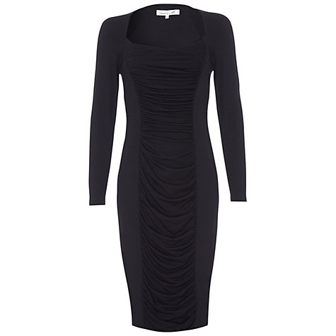 Buy Damsel in a dress Black Palm Dress, Black Online at johnlewis.com