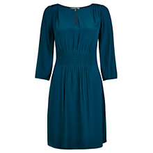 Buy Jigsaw Smock Dress, Dark Peacock Online at johnlewis.com
