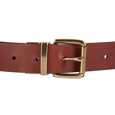 Buy John Lewis Jeanie Reversible Belt, Black / Tan Online at johnlewis.com