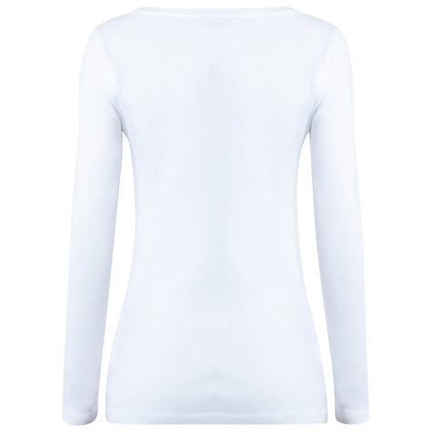 Buy White Stuff Suzie Lou T-Shirt, White Online at johnlewis.com