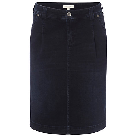 Buy White Stuff Denim Mimi Skirt, Dark Denim Online at johnlewis.com
