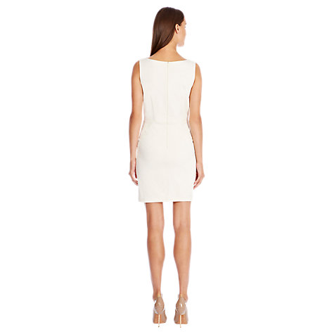 Buy Coast Chester Dress, White Online at johnlewis.com