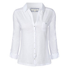 Buy White Stuff Garden Power Shirt, White Online at johnlewis.com