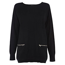 Buy Warehouse Zip Front Jumper Online at johnlewis.com