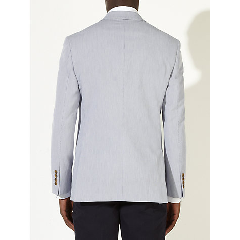 Buy John Lewis Ticking Stripe Blazer, Blue Online at johnlewis.com