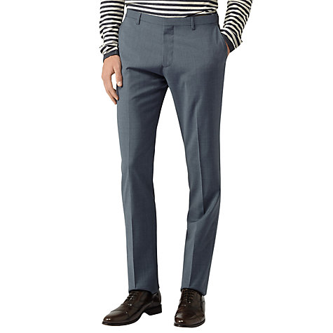 Buy Reiss Primrose Formal Trousers, Blue Online at johnlewis.com