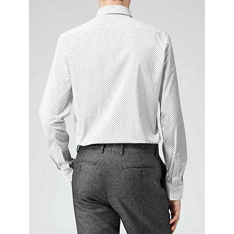 Buy Reiss Hustler Circle Dot Print Long Sleeve Shirt Online at johnlewis.com