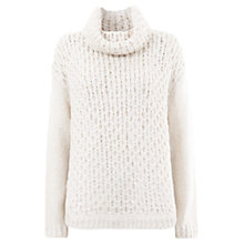 Buy Mint Velvet Wavy Stitch Ovoid Jumper Online at johnlewis.com