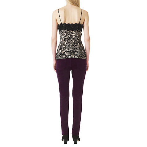 Buy Jigsaw Velvet Jeans Online at johnlewis.com