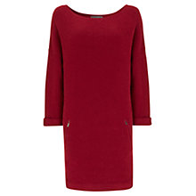 Buy Mint Velvet Oversized Sweater Dress, Pink Online at johnlewis.com
