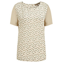 Buy Jigsaw Autumn Bouquet T-Shirt, Sand Online at johnlewis.com
