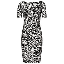 Buy Reiss Janella Lace Dress, Black/Cream Online at johnlewis.com