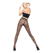 Buy Wolford Iman Tights, Black Online at johnlewis.com