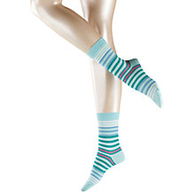 Buy Falke Striped Ankle Socks Online at johnlewis.com