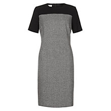 Buy Hobbs Letty Dress, Black Ivory Online at johnlewis.com