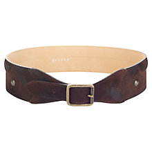 Buy Jigsaw Norwood Waist Belt, Brown Online at johnlewis.com