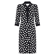 Buy allegra by Allegra Hicks Evelyn Dress, Polkadot Black Online at johnlewis.com