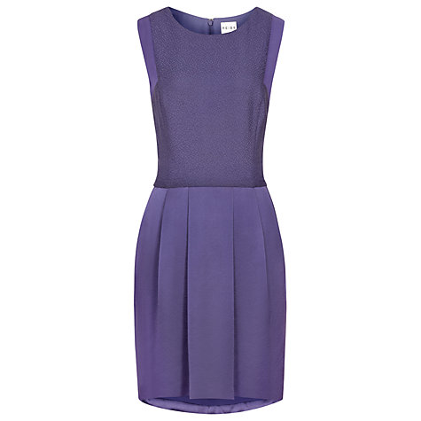 Buy Reiss Gigi Dress, Purple Online at johnlewis.com