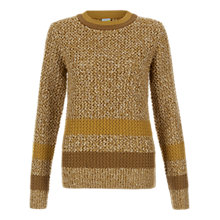 Buy NW3 by Hobbs Vintage Stitch Sweater, Sage Gold Multi Online at johnlewis.com