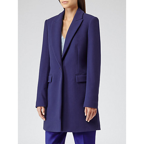Buy Reiss Soul Straight Cut Coat Online at johnlewis.com