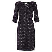 Buy allegra by Allegra Hicks Diamonds Victoria Dress, Black Online at johnlewis.com