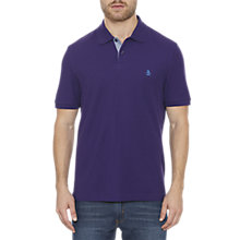 Buy Original Penguin Daddy-O Classic Fit Polo Shirt, Parachute Purple Online at johnlewis.com