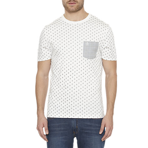 Buy Original Penguin Printed Bleaks T-Shirt Online at johnlewis.com