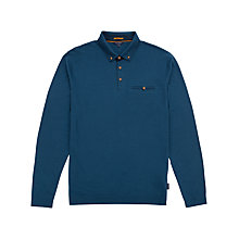 Buy Ted Baker Fleamar Long Sleeve Polo Shirt Online at johnlewis.com