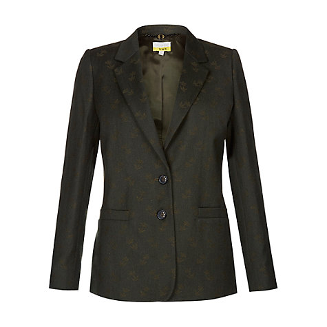 Buy NW3 by Hobbs Chaffinch Jacket, Grey/Green Online at johnlewis.com